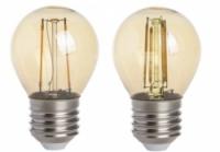 led filament kogel goud E27