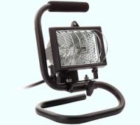 Draagbare halogeenstraler 78mm. 150 Watt max.
