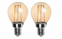 led filament kogel goud E14