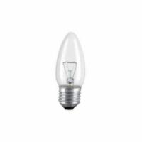 kaarslamp E27 helder