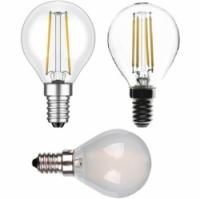 led filament kogel helder / mat E14