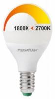 Vervangt 25 watt gloeilamp 2700-1800K. dim to warm