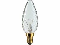 Kaarslamp helder gedraaid