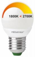 Vervangt 25 watt gloeilamp 2700-1800K, dim to warm